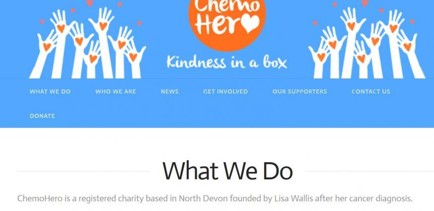 Charity websites build north devon