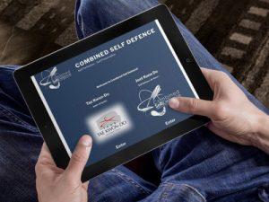self defence training website design