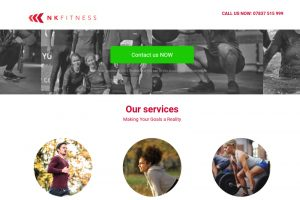 personal trainer website London