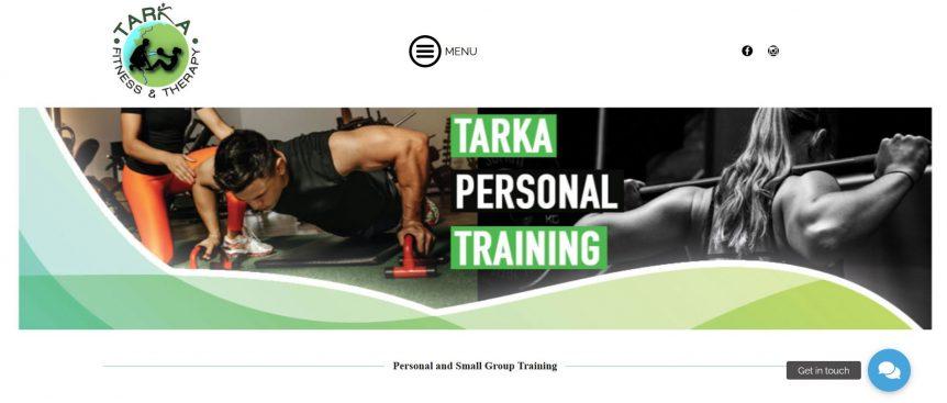 Barnstaple personal trainer website